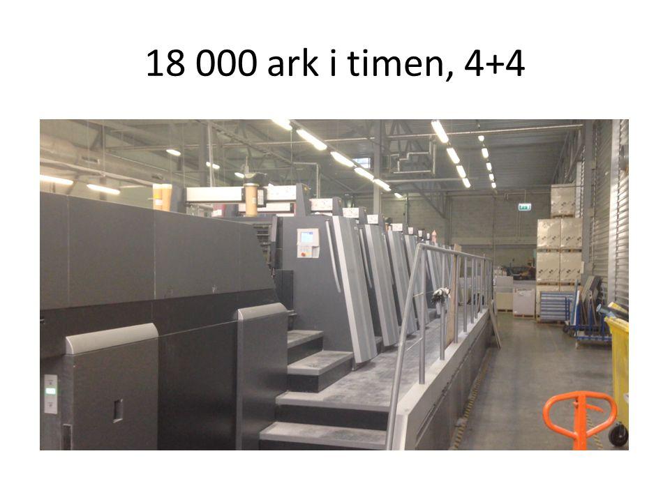 18 000 ark i timen, 4+4