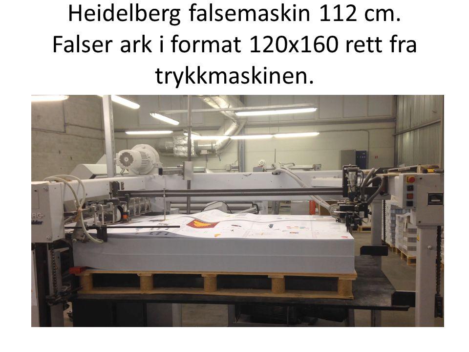 Heidelberg falsemaskin 112 cm