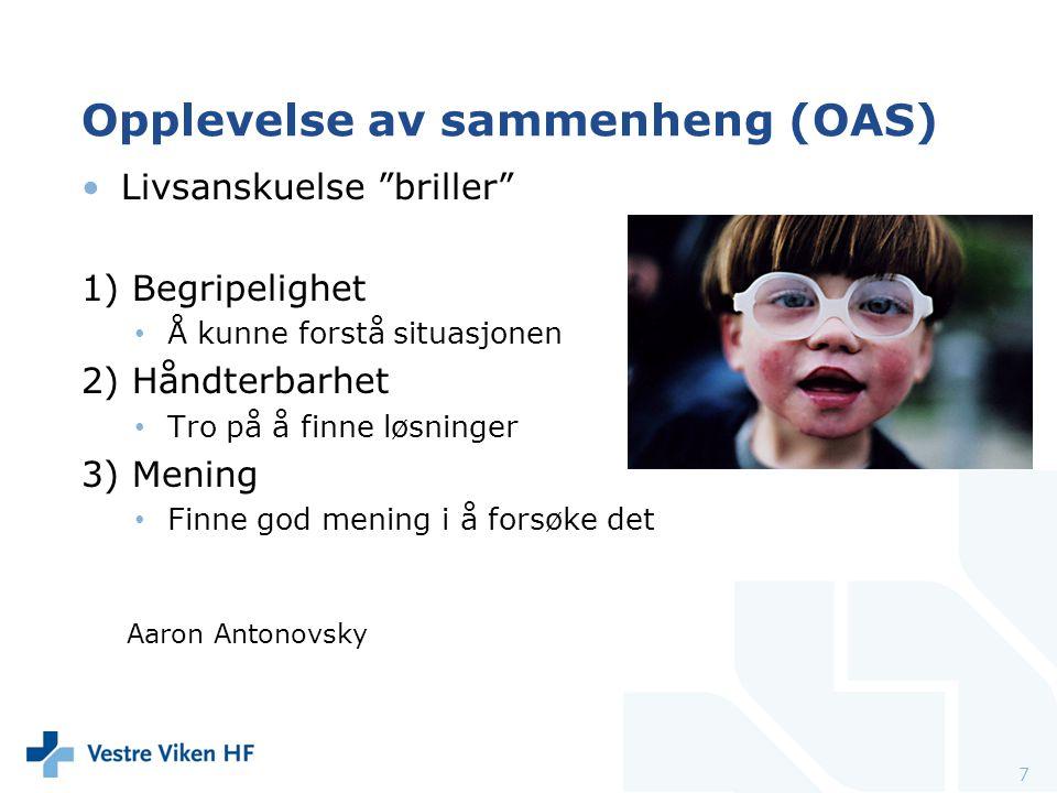 Opplevelse av sammenheng (OAS)
