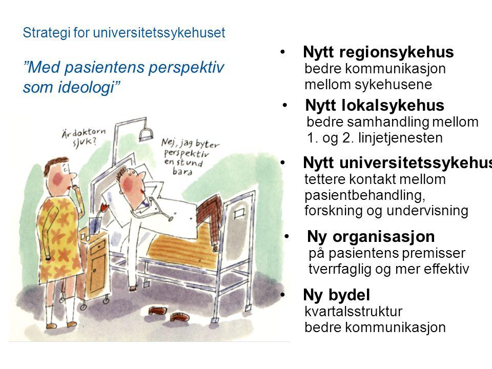 Med pasientens perspektiv som ideologi Nytt regionsykehus