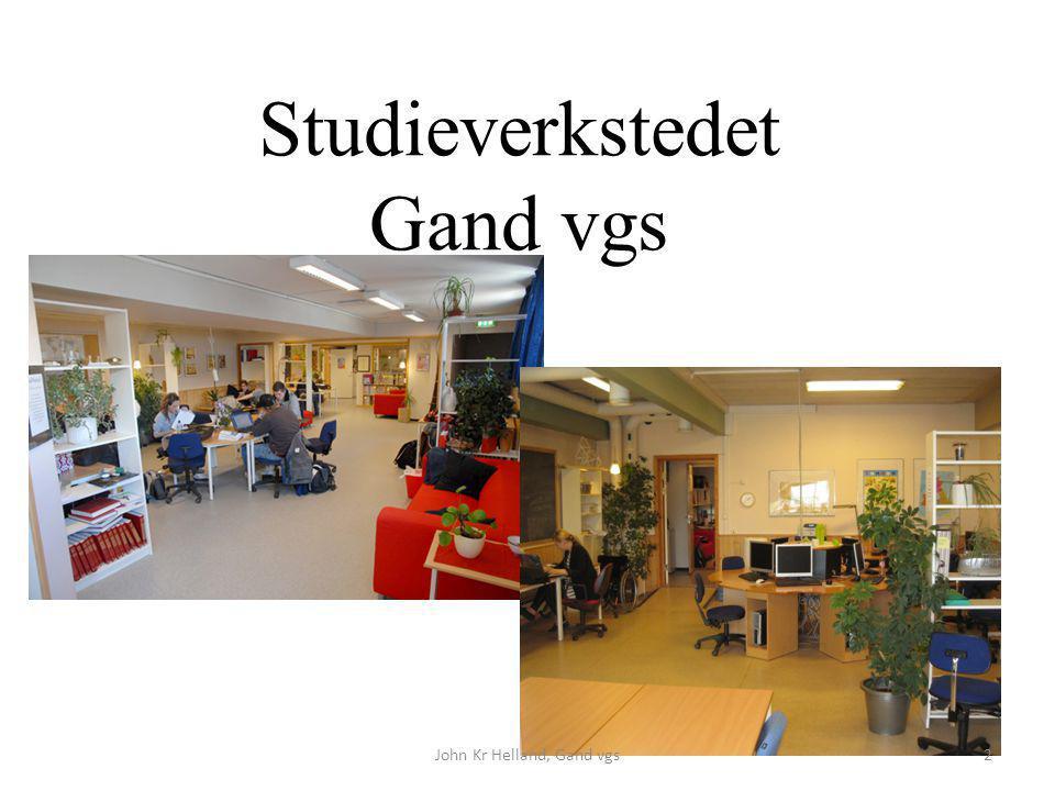 Studieverkstedet Gand vgs