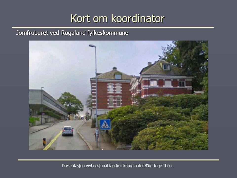 Jomfruburet ved Rogaland fylkeskommune