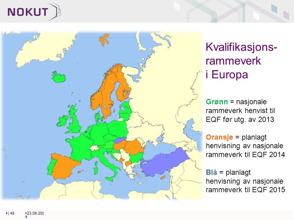 Kvalifikasjons-rammeverk i Europa