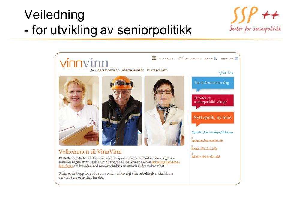Veiledning - for utvikling av seniorpolitikk