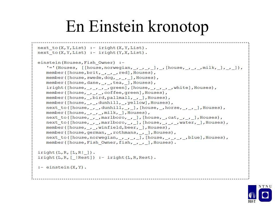 En Einstein kronotop