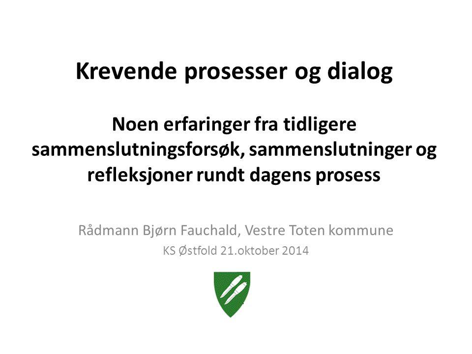 Rådmann Bjørn Fauchald, Vestre Toten kommune