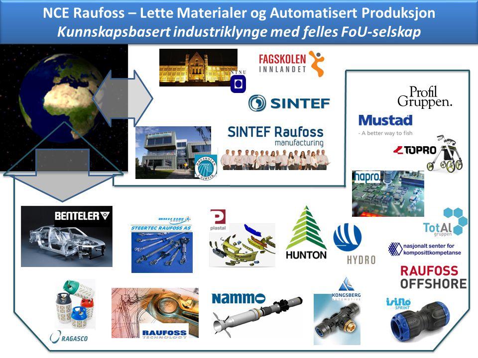 NCE Raufoss – Lette Materialer og Automatisert Produksjon