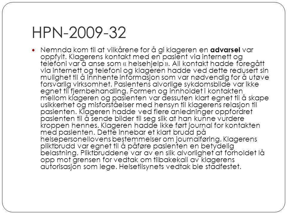 HPN-2009-32