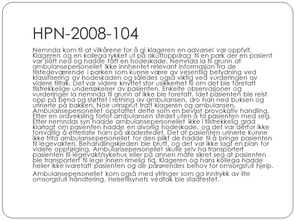 HPN-2008-104