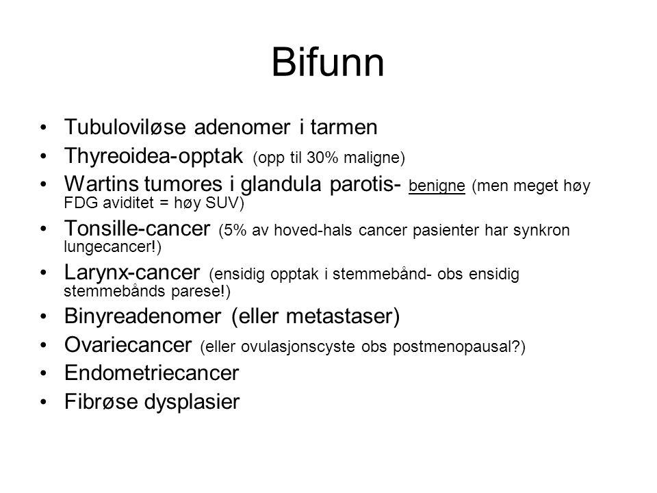 Bifunn Tubuloviløse adenomer i tarmen