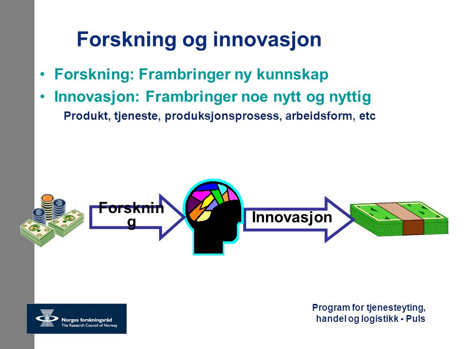 Forskning og innovasjon