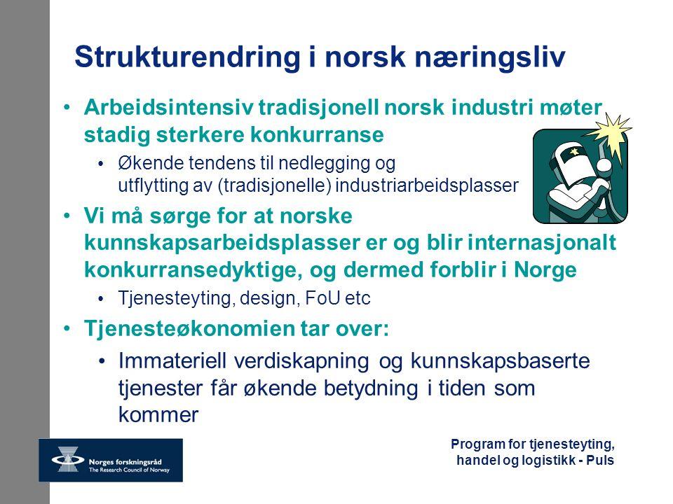 Strukturendring i norsk næringsliv