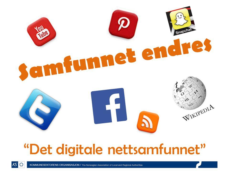 Det digitale nettsamfunnet