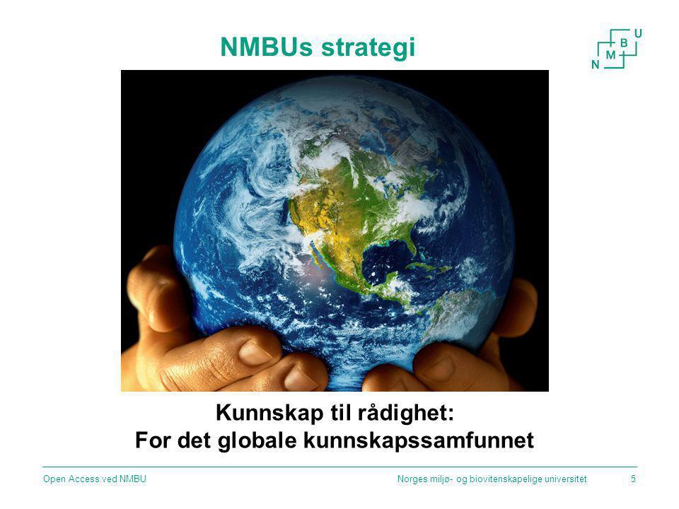 Kunnskap til rådighet: For det globale kunnskapssamfunnet