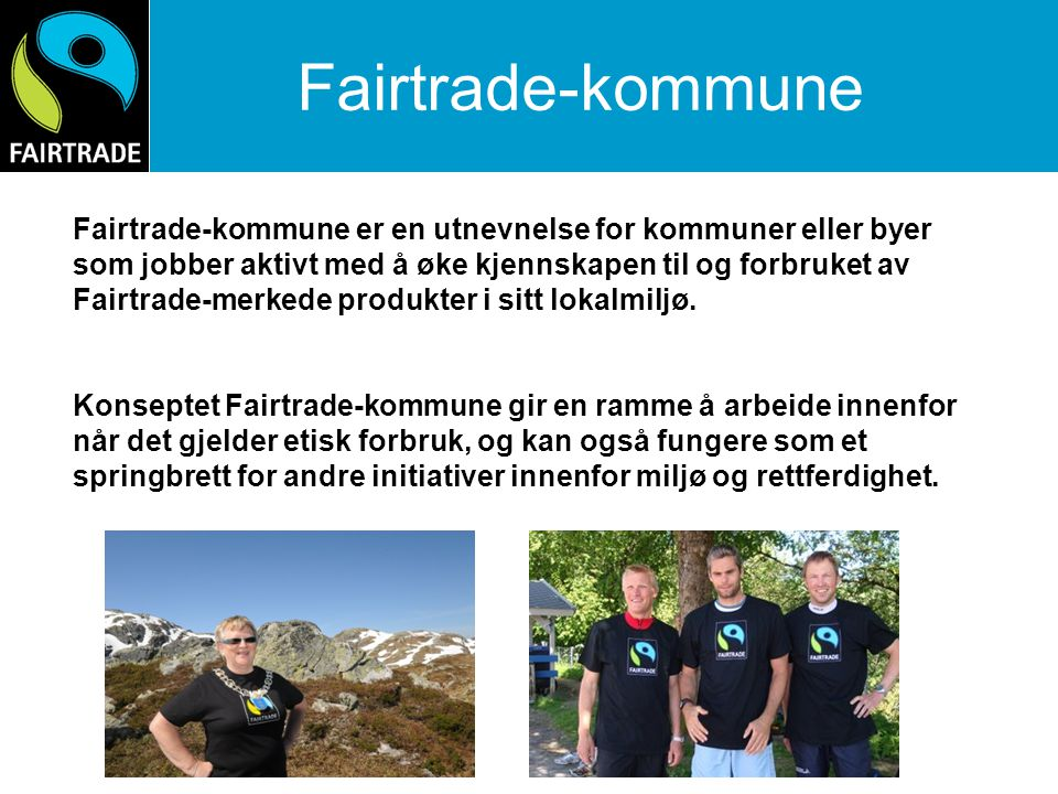 Fairtrade-kommune