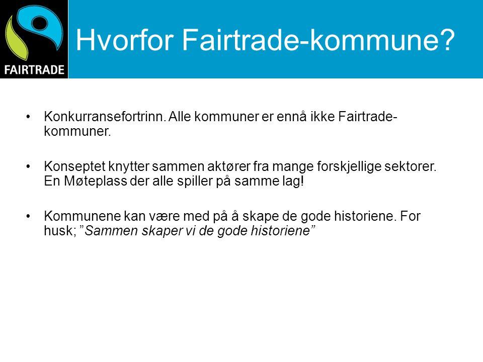 Hvorfor Fairtrade-kommune
