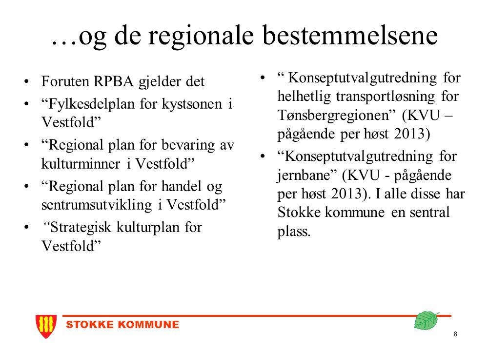 …og de regionale bestemmelsene