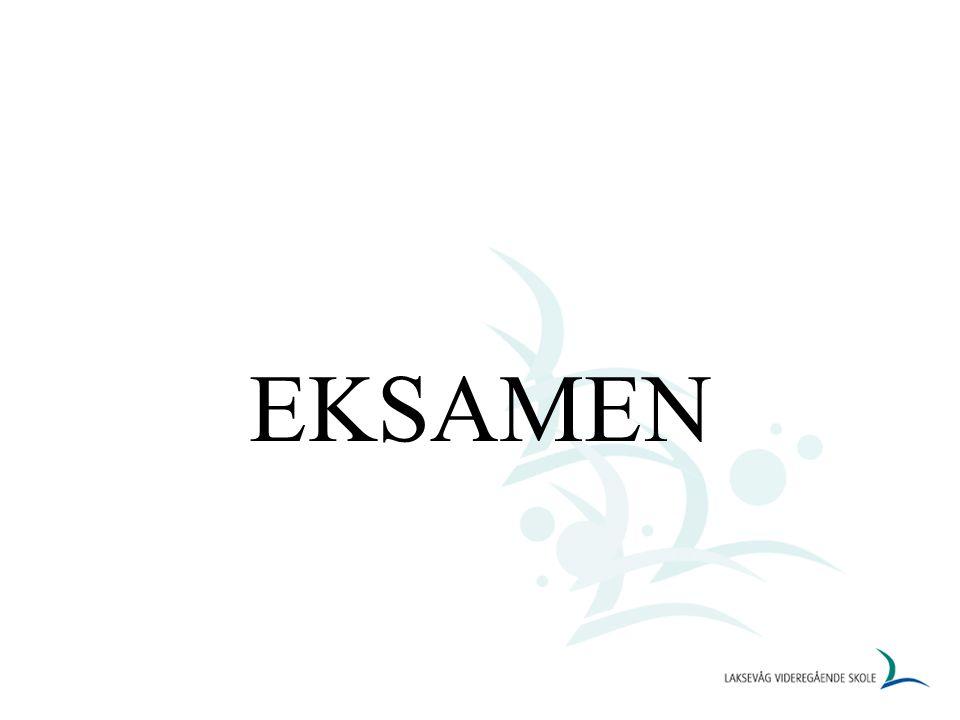 EKSAMEN