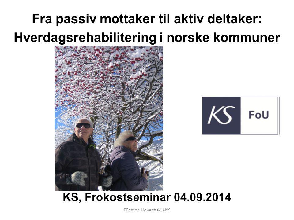 KS - Hverdagsrehabilitering i norske kommuner