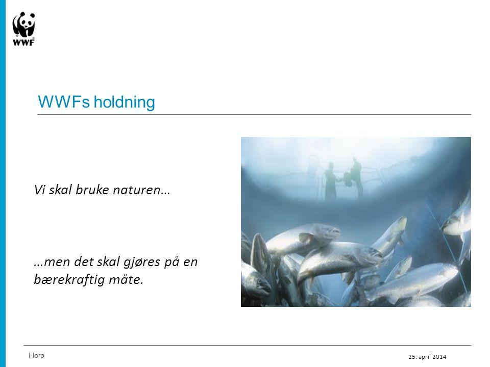 WWFs holdning Vi skal bruke naturen…