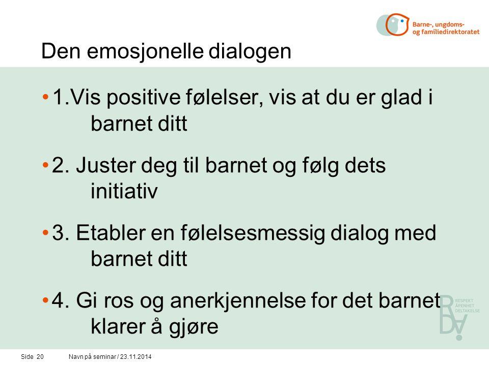 Den emosjonelle dialogen