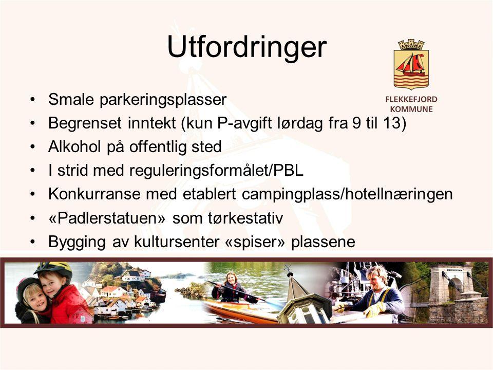 Utfordringer Smale parkeringsplasser