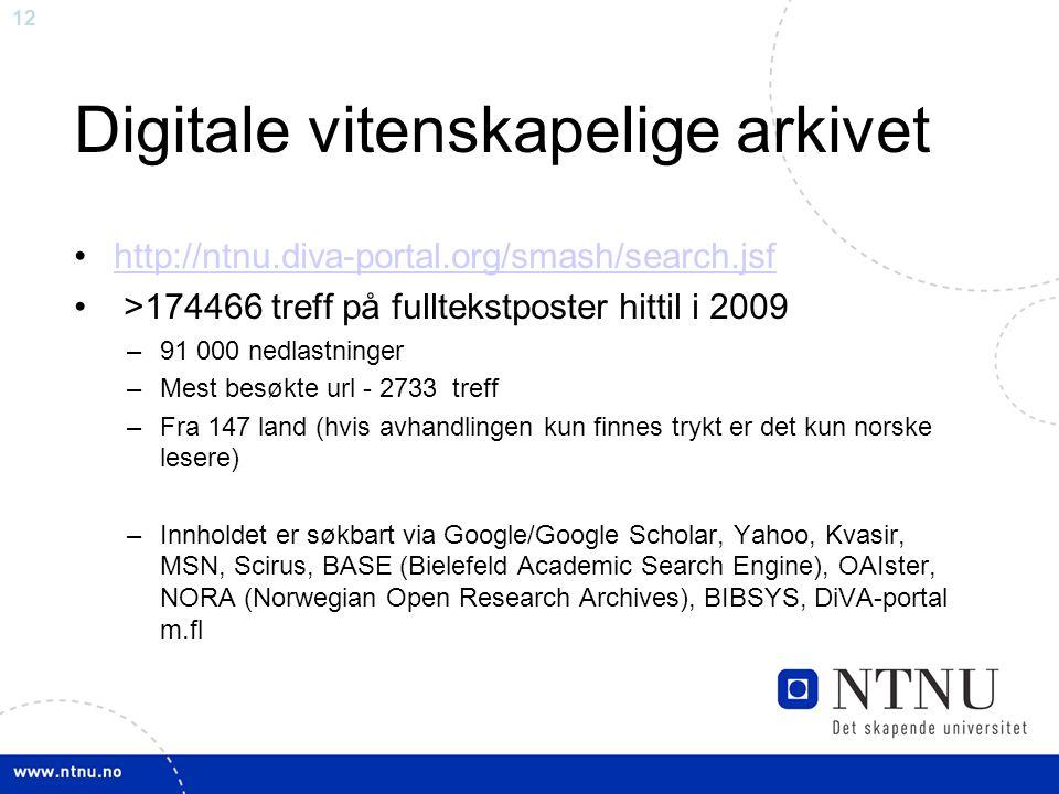 Digitale vitenskapelige arkivet