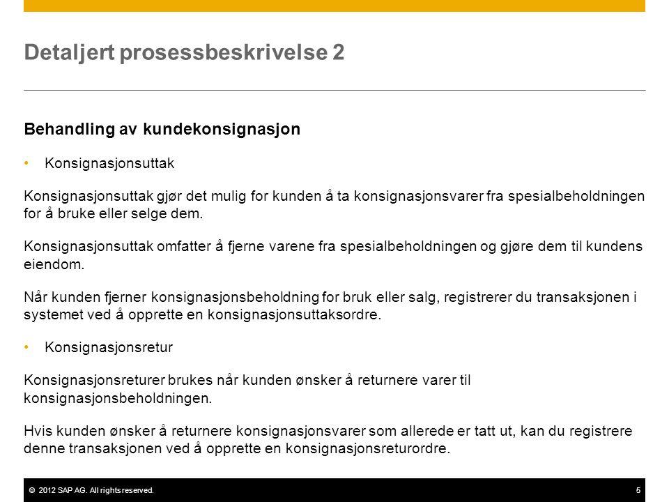 Detaljert prosessbeskrivelse 2