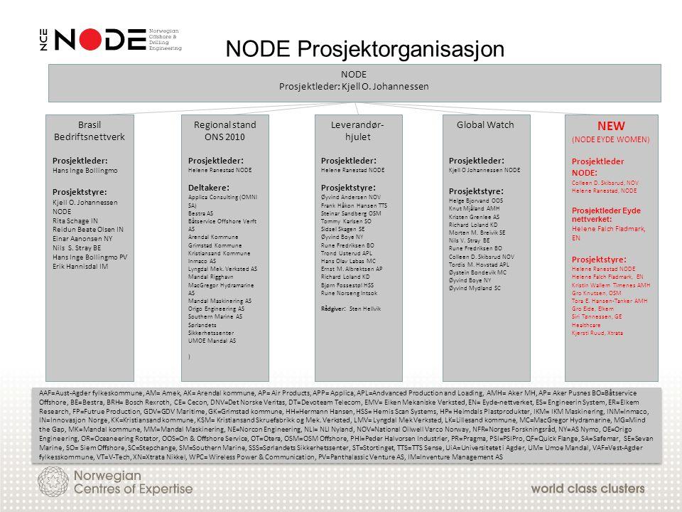 NODE Prosjektorganisasjon