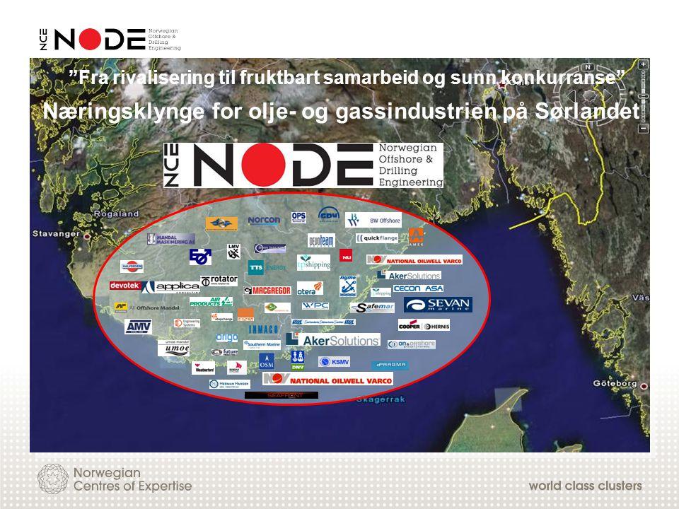 Næringsklynge for olje- og gassindustrien på Sørlandet
