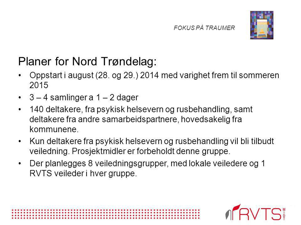 Planer for Nord Trøndelag: