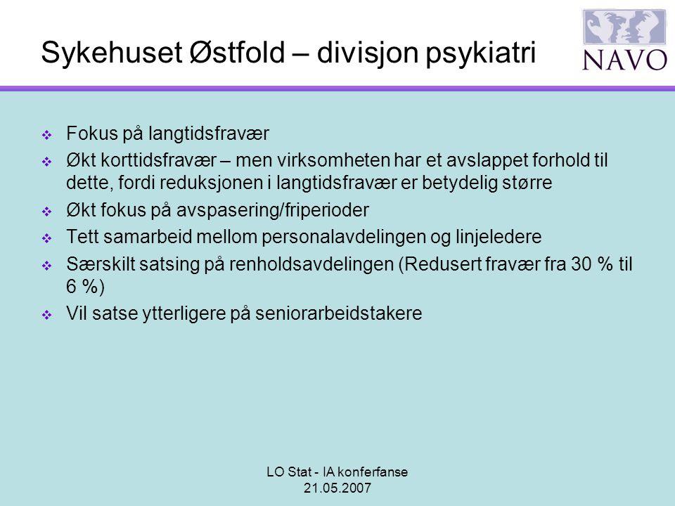 Sykehuset Østfold – divisjon psykiatri