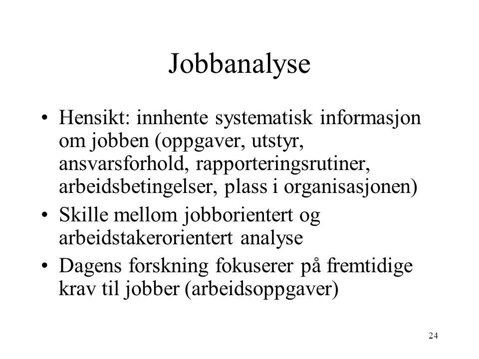 Jobbanalyse