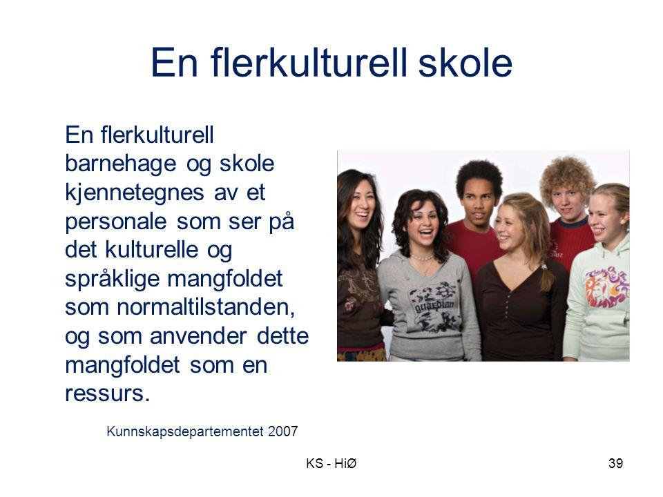 En flerkulturell skole