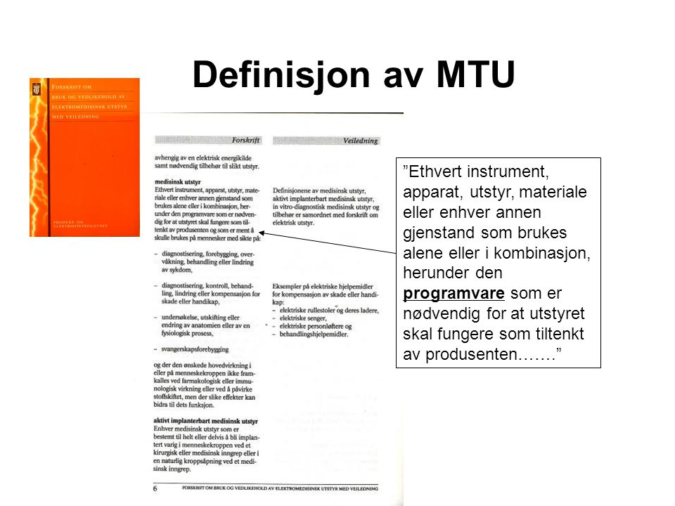 Definisjon av MTU