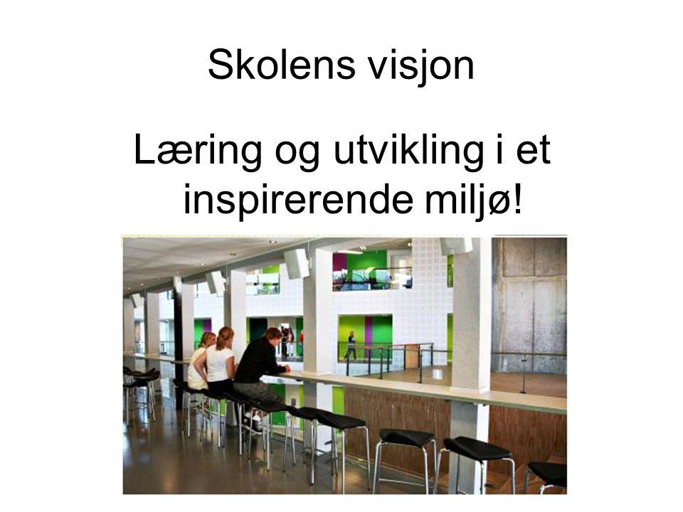 Læring og utvikling i et inspirerende miljø!