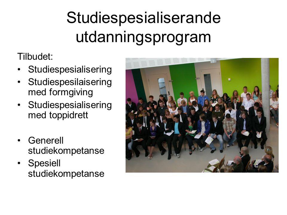 Studiespesialiserande utdanningsprogram
