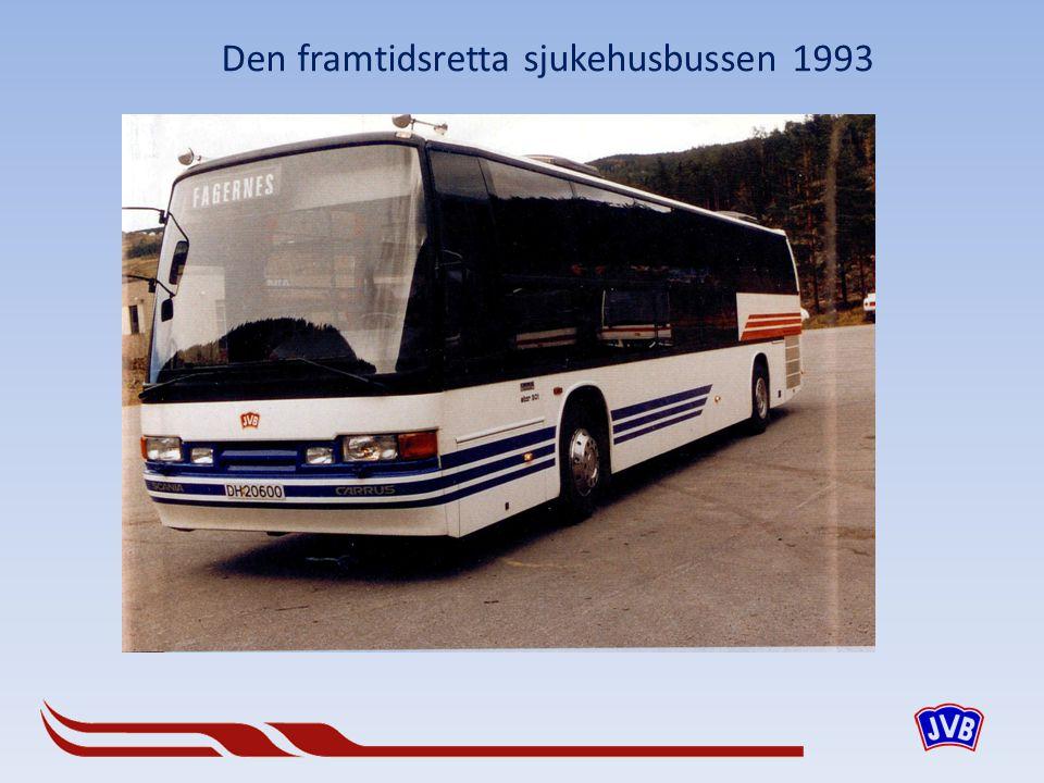Den framtidsretta sjukehusbussen 1993
