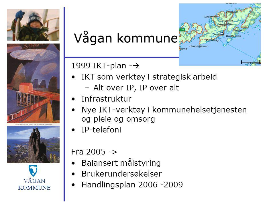 Vågan kommune 1999 IKT-plan - IKT som verktøy i strategisk arbeid