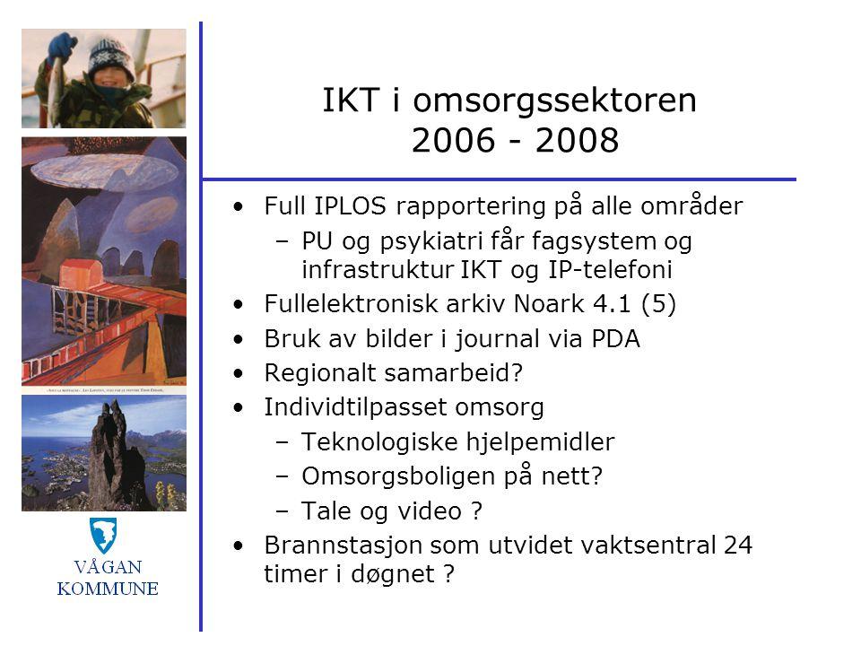 IKT i omsorgssektoren 2006 - 2008