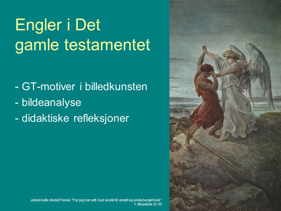 Engler i Det gamle testamentet