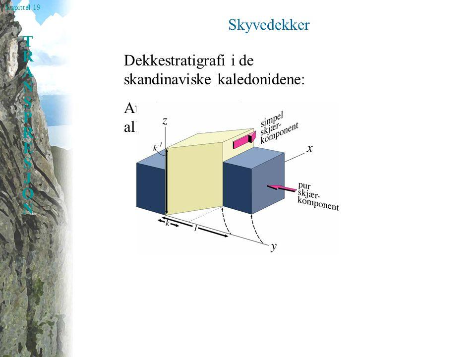 Skyvedekker Dekkestratigrafi i de skandinaviske kaledonidene: Autokton, parautokton og allokton