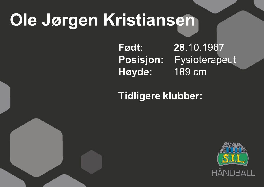 Ole Jørgen Kristiansen