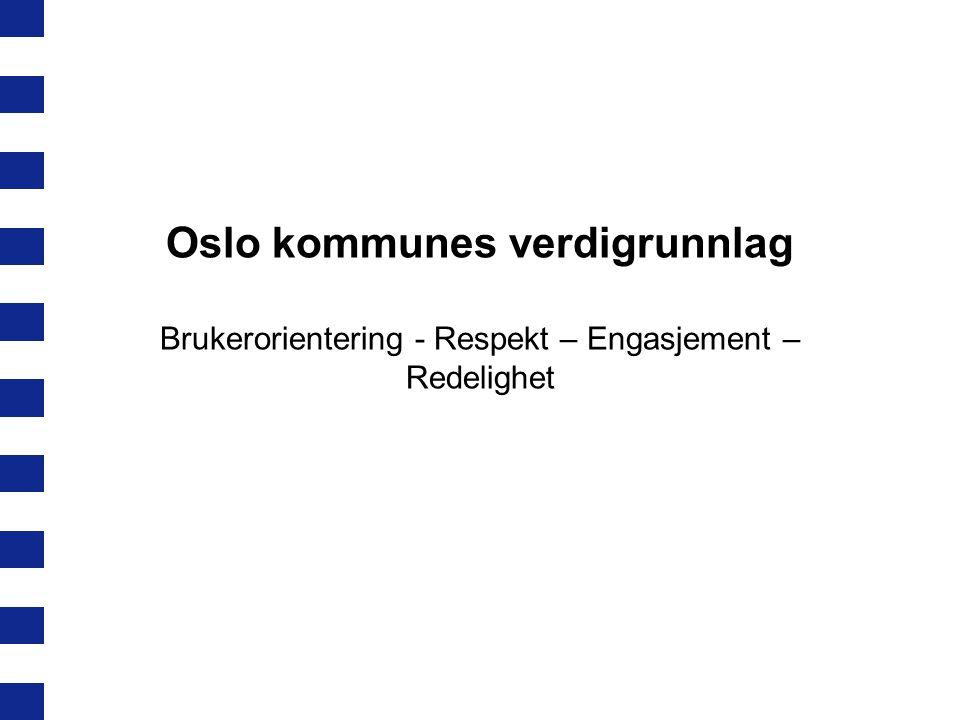 Oslo kommunes verdigrunnlag