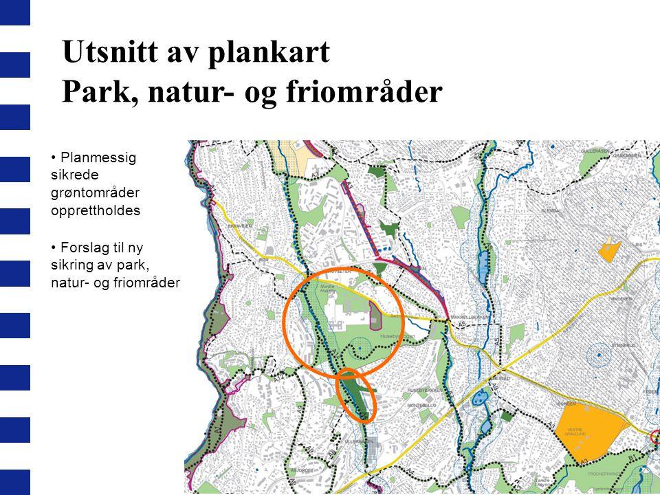 Park, natur- og friområder