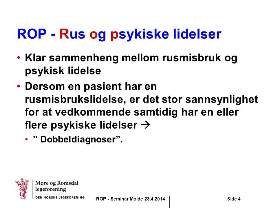 ROP - Rus og psykiske lidelser