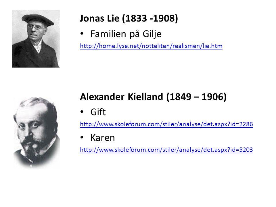 Alexander Kielland (1849 – 1906) Gift Karen