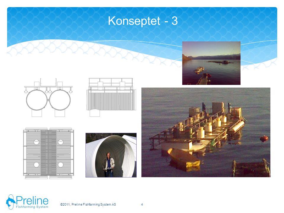 Konseptet - 3 ©2011, Preline Fishfarming System AS