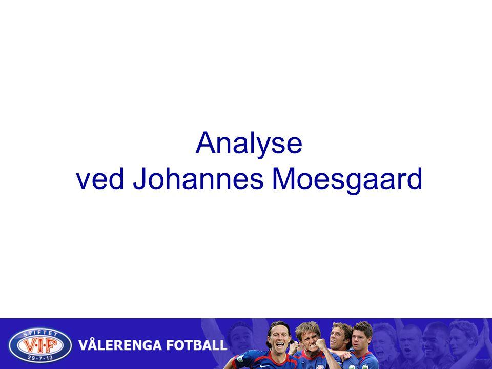 Analyse ved Johannes Moesgaard