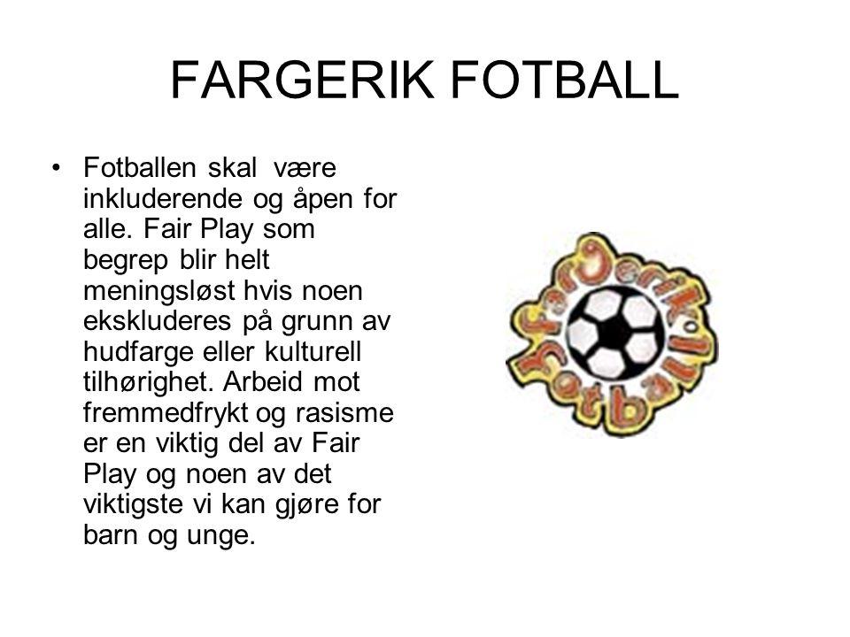 FARGERIK FOTBALL